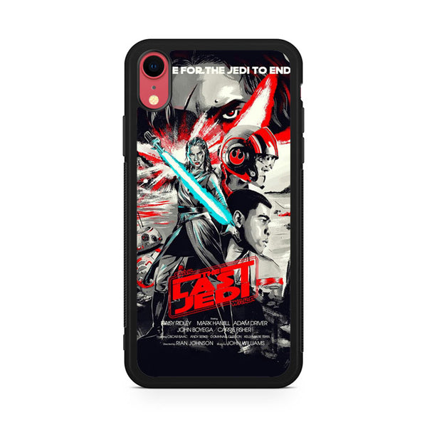 Star Wars The Last of Jedi Cover GT iPhone XR Case