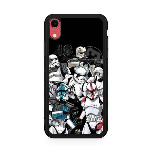Star Wars The Troopers Collage AA iPhone XR Case