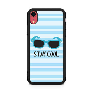 Stay Cool - Z iPhone XR Case