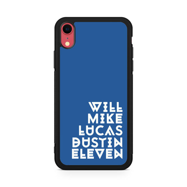 Stranger Things Players AB iPhone XR Case