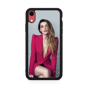 Stunning Amber Heard iPhone XR Case