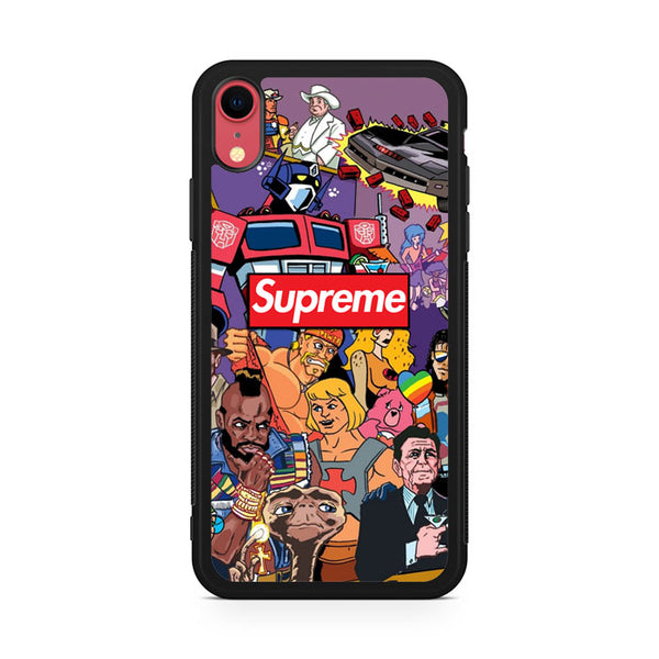 Supreme Characters iPhone XR Case