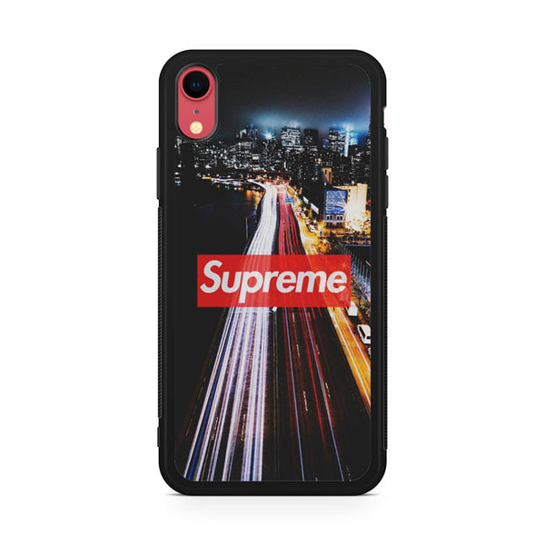 Supreme in City AB iPhone XR Case