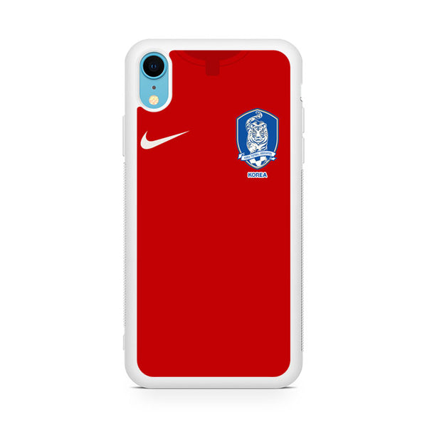 south korea soccer jersey iPhone XR Case