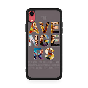 the avengers 2 team iPhone XR Case