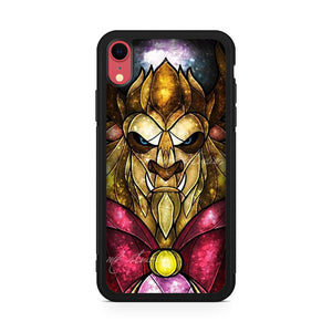 the beast stained glass iPhone XR Case