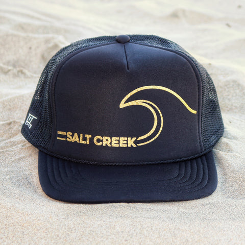 Salt Creek Wave Hat - Black / Gold