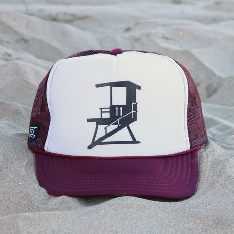 San Clemente City Tower - White / Maroon