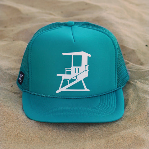 San Clemente City Tower - Teal / White