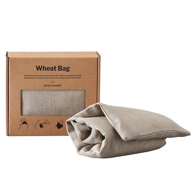 Wheat Bag - Linen Natural