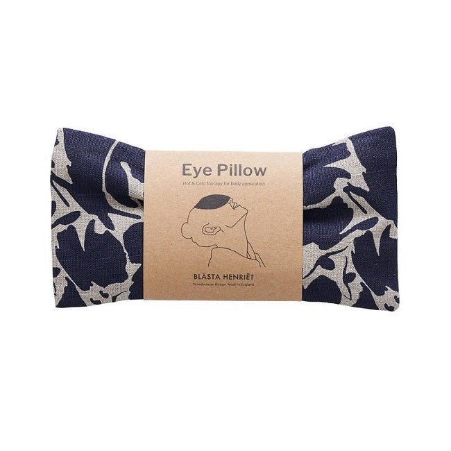 Wheat Eye Pillow - Navy Creatures