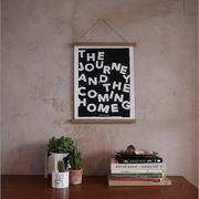 The Journey and The Coming Home Black Print