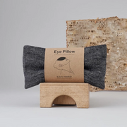 Eye Pillow - Linen Black Herring