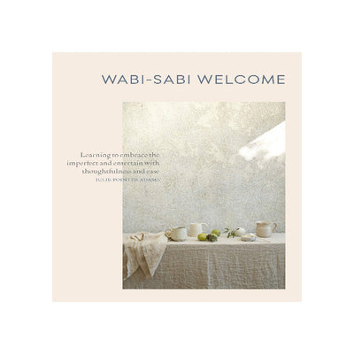 Wabi Sabi Welcome Book