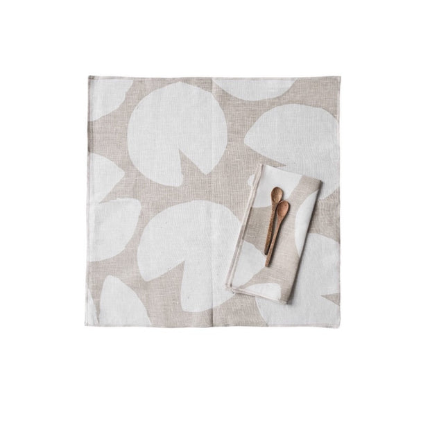 Fine Little Day Set of 2 Napkins - Water Lillies