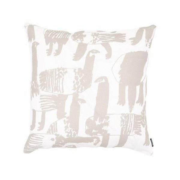 LAUTTASAARI GREY CUSHION COVER