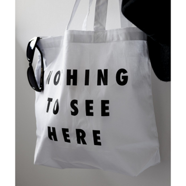 Nothing To See Here Tote Bag