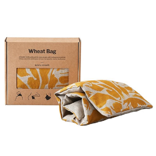 Wheat Bag Linen Yellow