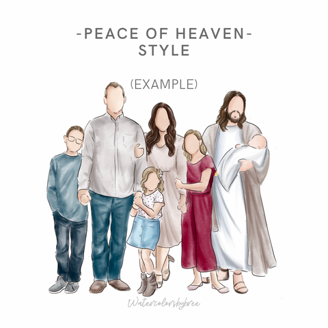 "Full Color DIGITAL ""peace of Heaven"""