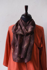 MADDER ROOT DYED SILK TUNIC
