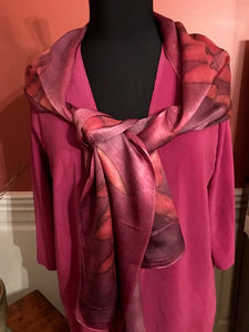 COCHINEAL DYED TUNIC