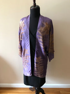 LOGWOOD DYED SILK TUNIC