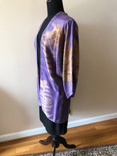 Load image into Gallery viewer, LOGWOOD DYED SILK TUNIC