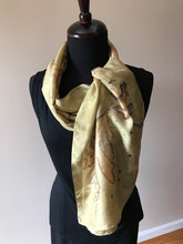 Load image into Gallery viewer, GOLDEN CHARTER OAK SCARF