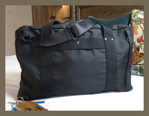 'Black' - Bali Weekender travel bag *Low stock*