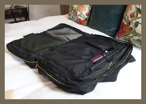 BLACK!  PRE ORDER ONLY - Bali Weekender travel bag