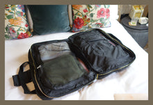 Load image into Gallery viewer, 'Black' - Bali Weekender travel bag
