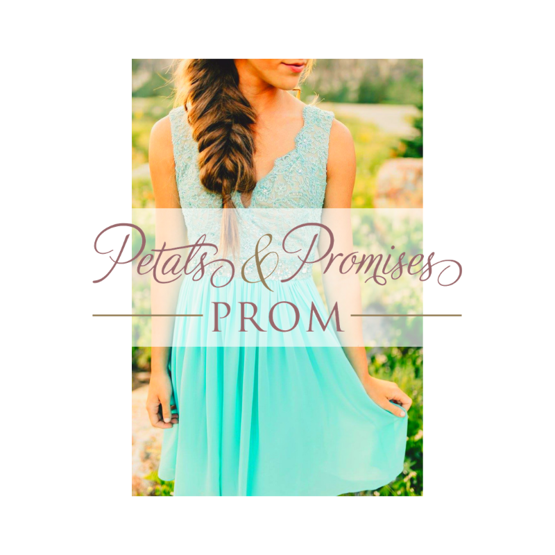Petals and Promises Prom Dress Store Logan Utah