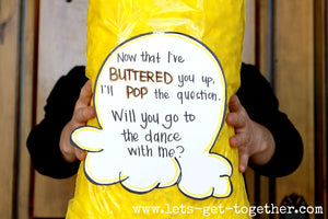 Creative Ways to Ask to a Dance