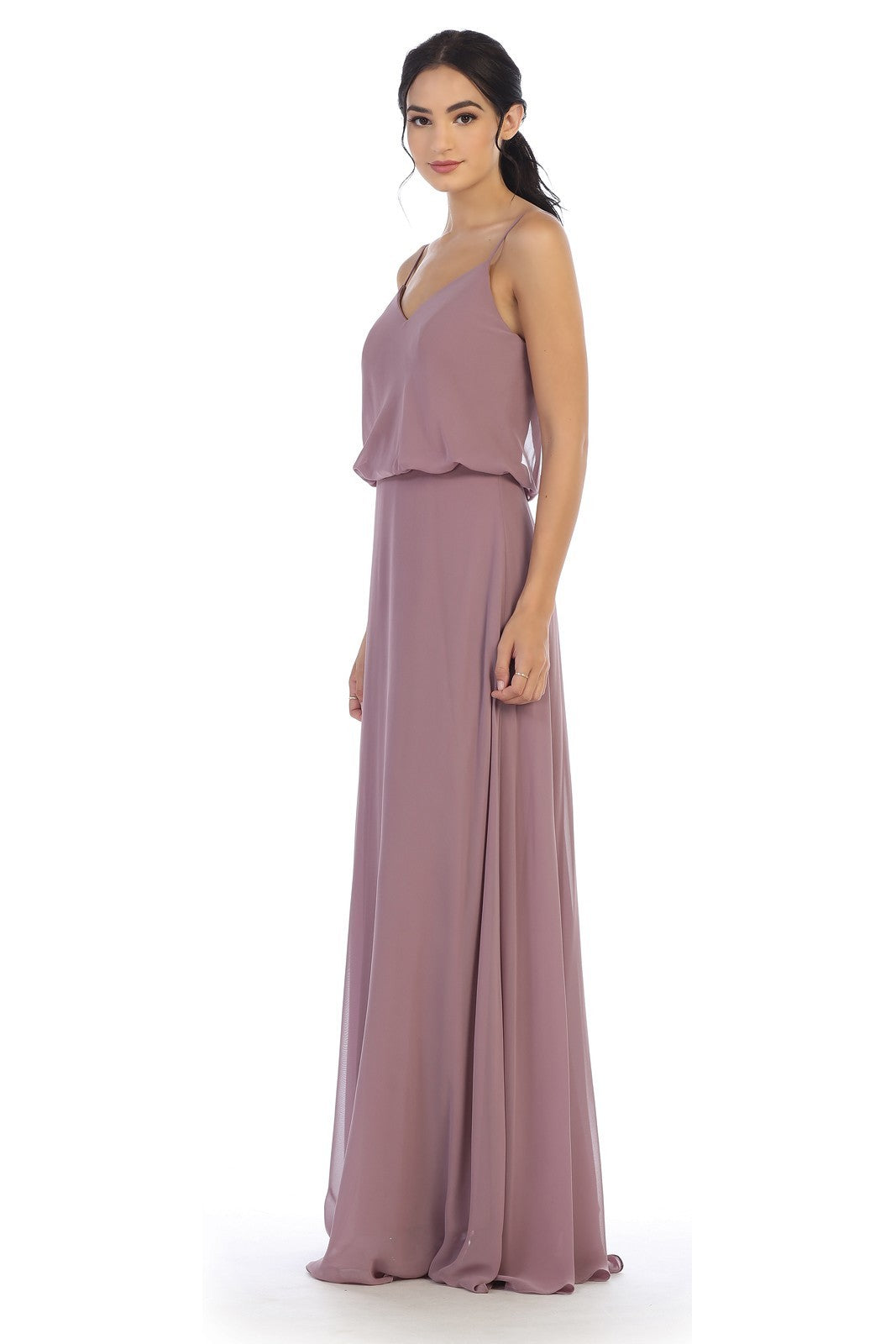Blouse Top Chiffon Gown