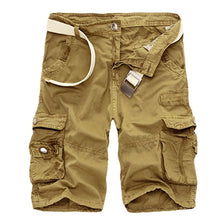 Laden Sie das Bild in den Galerie-Viewer, Bequeme Camo Men Cargo Shorts