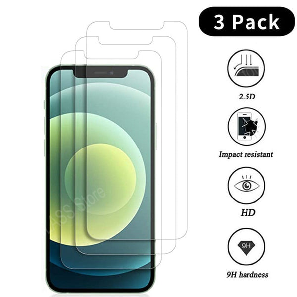 Glass Screen Protector - 3 Pieces
