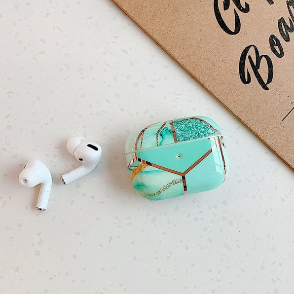 Green Marble AIRPOD PRO