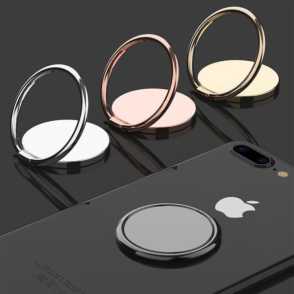 Luxury Metal Ring Holder