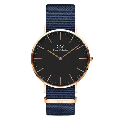 CLASSIC BLACK | 40MM BAYSWATER