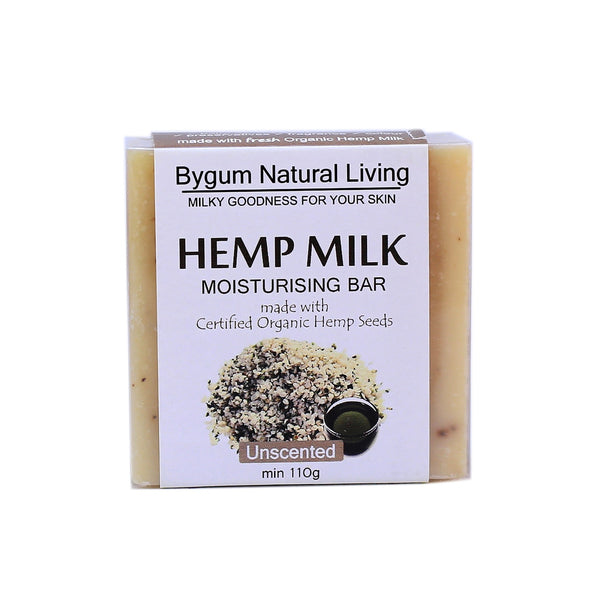Unscented Hemp Milk Moisturizing Bar 110g (3.9 oz)
