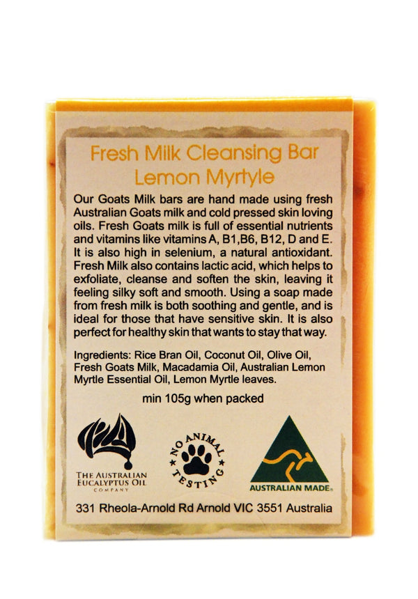 Lemon Myrtle Goat's Milk Soap 110g (3.9 oz)