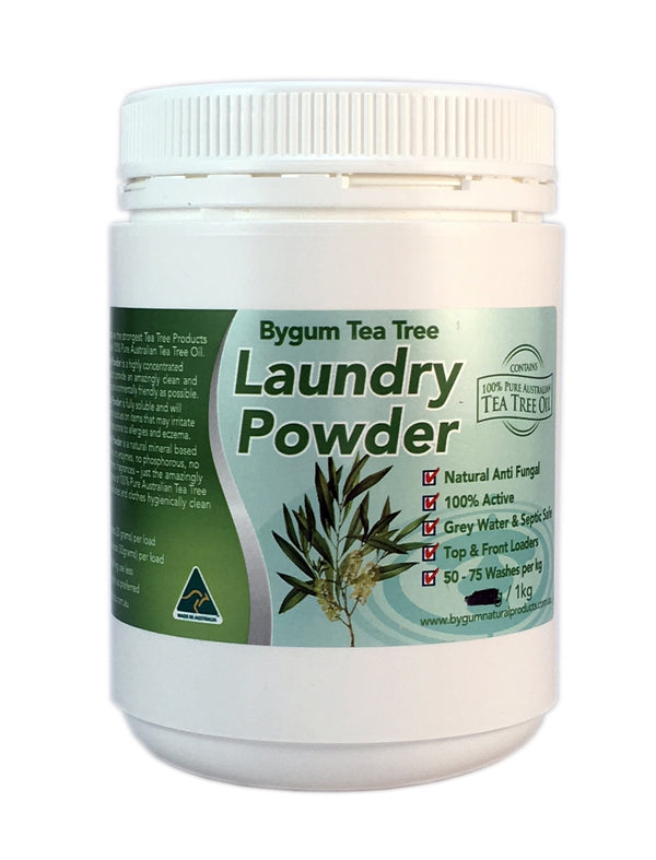Tea Tree Laundry Powder 1kg (2.2 lbs)