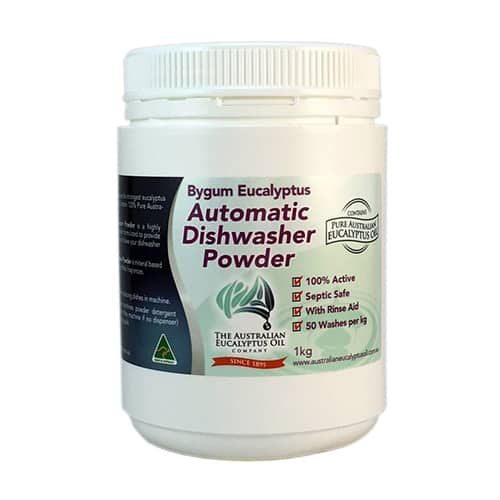 Eucalyptus Dishwasher Powder 1kg (2.2 lbs)