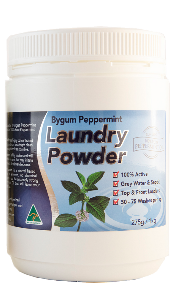 Peppermint Laundry Powder 1kg (2.2 lbs)