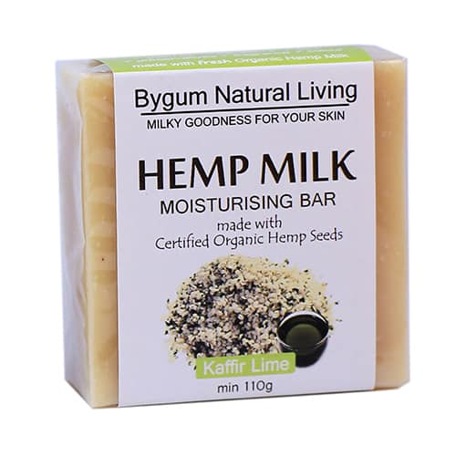 Kaffir Lime Hemp Milk Moisturizing Bar 110g (3.9 oz)