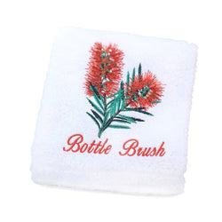Bottle Brush Luxury Cotton Hand Towel