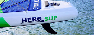 Where To Position Your SUP Fin With The US Fin Box System