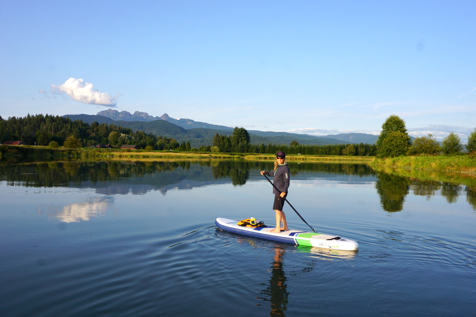 Increase Happiness and well being Hero SUP stand up paddle boards