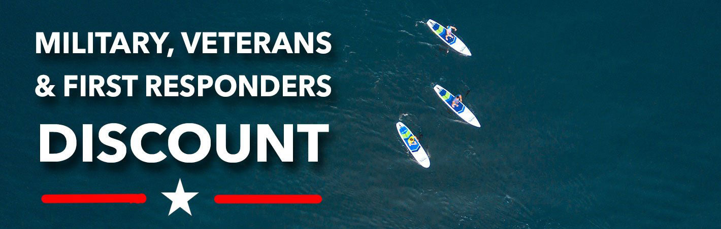 Hero SUP Canada first responder discount
