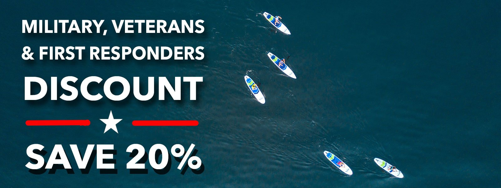 Hero SUP Military & First Responder Discount